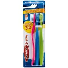 Escova Dental Condor Plus Leve 3un Pague 2un