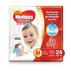 Fralda HUGGIES Supreme Care M - 24 Unidades