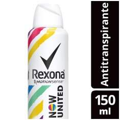 Desodorante Antitranspirante Aerosol Rexona Now United Com 150 mL